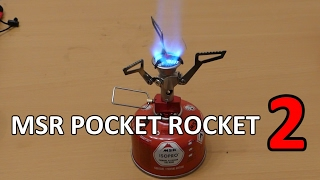 MSR pocket rocket 2 stove - NEW 2017 Model