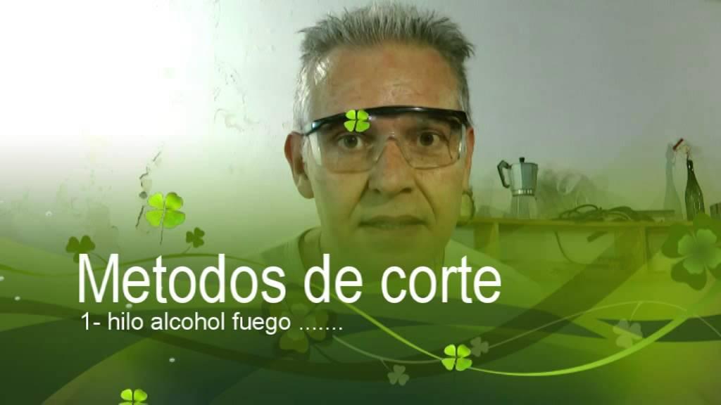 Ecobotella   Cortar botella vidrio - SECRETOS
