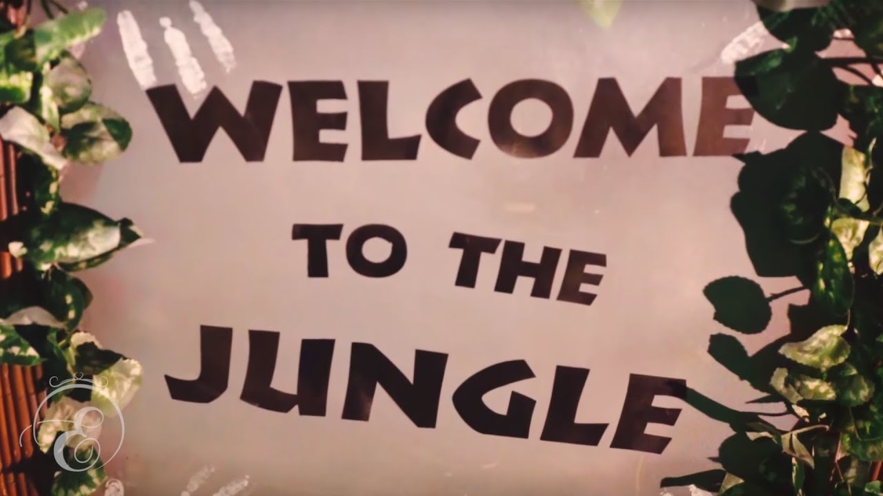 Enchanted Jungle Wedding Theme Youtube