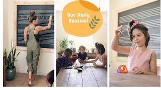 🌿 DITL: Our Daily Routine (Family of 5!!) 🏡