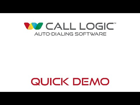 Call Logic Pre-Recorded Demo