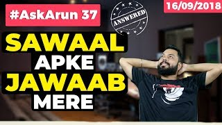 #AskArun 37– RealMe 2 Pro Pricing, What is E- Sim, Screen Bleed on Poco F1, No Notch on Samsung