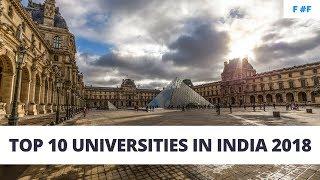 Top 10 Universities - Top 10 Universities In India 2018