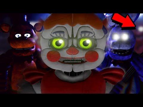 THE ANIMATRONICS AWAKENED || FNAF 1 & Sister Location 3D (FREE ROAM Five Nights at Freddys)