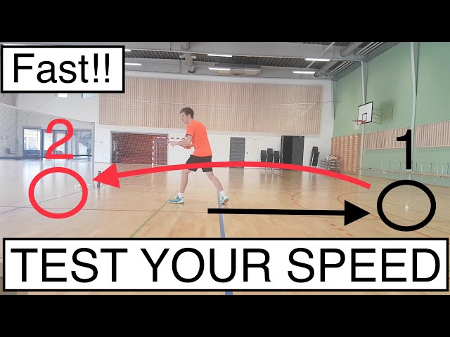 BADMINTON FOOTWORK #9 - IMPROVE YOUR SPEED, USING ONLY 2 SHUTTLES