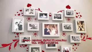 Супер поздравление на золотую свадьбу, слайдшоу на годовщину свадьбы