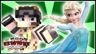 TROLAGEM da ELSA do FROZEN! - REDSTONE GANG #71