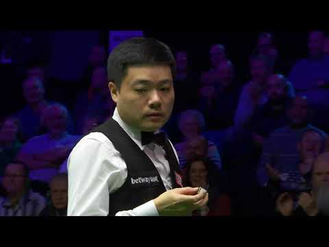 Just WOW! 🤯 Ding Junhui Cannon In 2019 UK Championship Final!