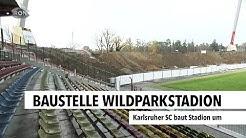 Baustelle Wildparkstadion | RON TV |