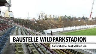 Baustelle Wildparkstadion   RON TV  