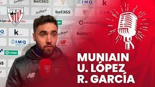 🎙 Iker Muniain, Unai López y Raúl García I post Athletic Club 1 – 1 RC Celta  J20 LaLiga 2019 20