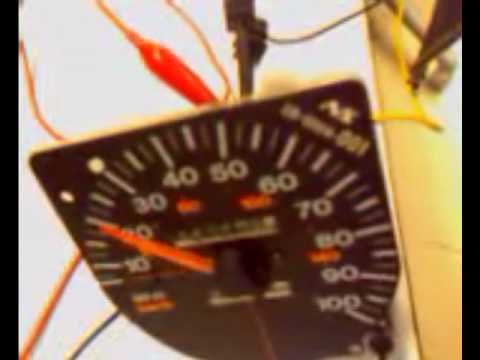 95 Jeep Sdometer troubleshooting - YouTube  Jeep Yj Wiring Diagram Sdometer on