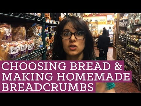 How To Choose Healthy Bread and Make Homemade Breadcrumbs Mind Over Munch Episode 23