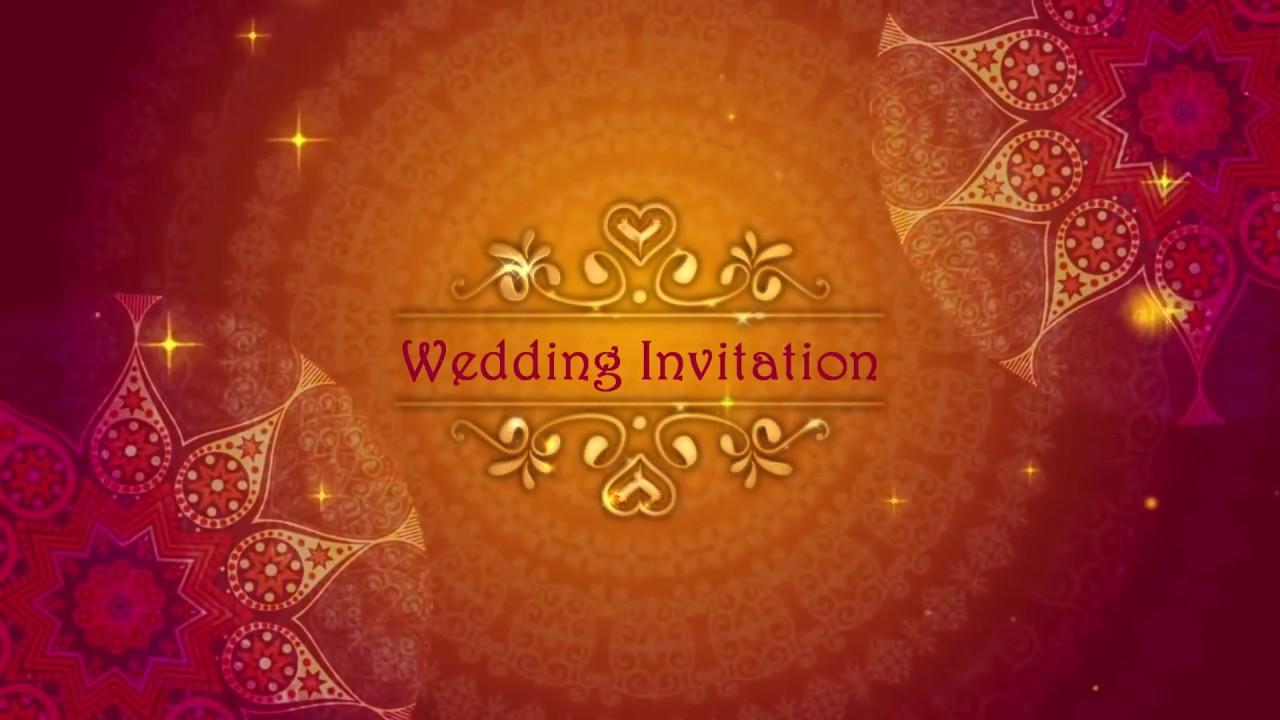 Need Wedding Invitation Video Or Whatsapp Wedding Card In Cheap