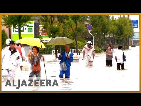 🇯🇵 Death toll rising as heavy rain pounds Japan | Al Jazeera English