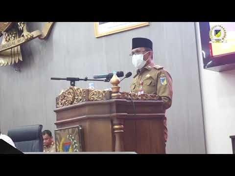 Gubernur Sulteng Menjawab Pandangan Umum Fraksi-Fraksi Di DPRD
