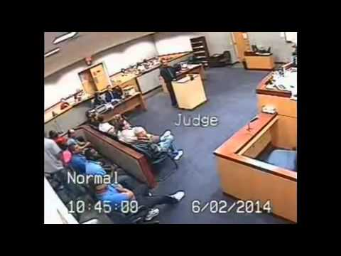 RAW Florida Judge Punches Attorney In Court Florida Courtroom Fight, Judge Beats Lawyer NEW ANGLE
