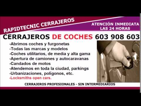 Cerrajeros de coches Valladolid 603 908 603