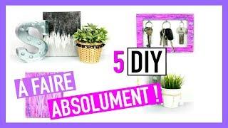 5 DIY à Faire ABSOLUMENT ! Deco Chambre Facile