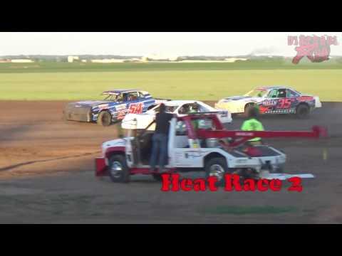 Salina Speedway 5-12-17 Stock Car Heats