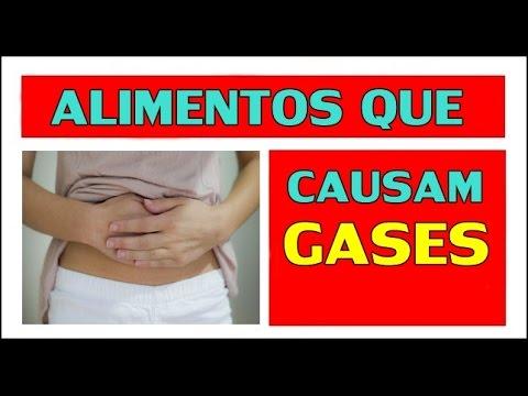 alimentos que causam gases intestinais