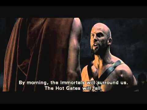 Athens vs. Sparta (The 300)