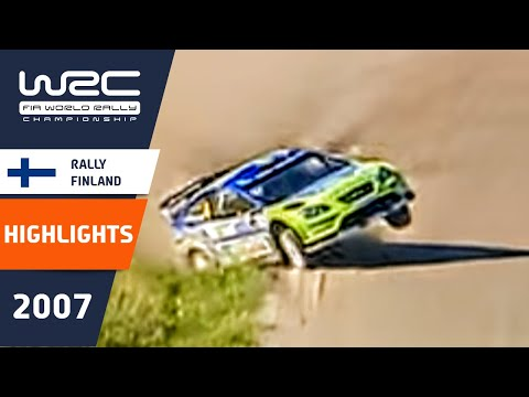 WRC Highlights: Finland 2007: 52 Minutes