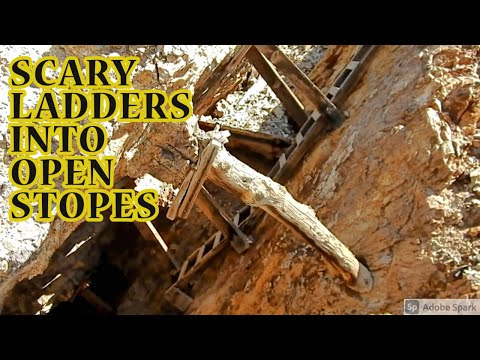 Nevada's Treasures - Mine Camp Ruins and Silver Mines Underground
