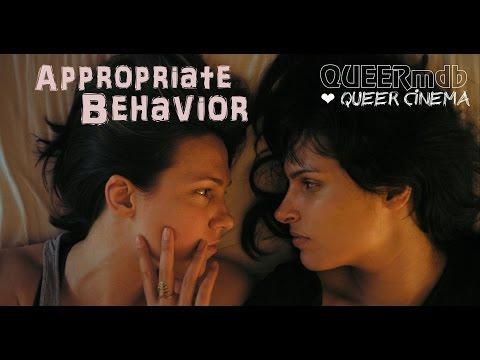 Appropriate Behavior UK 2014 lesbisch  bi  lesbian themed DE  EN