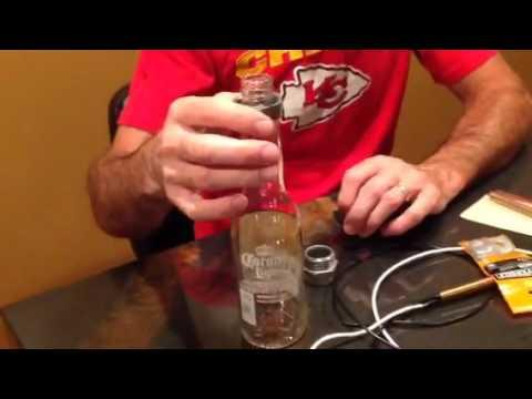 Diy How To Industrial Pipe Liquor Beer Bottle Chandelier