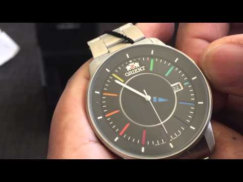Orient Smart Disk Rainbow Automatic Wristwatch #ER0200DW