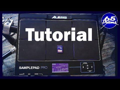 Alesis Sample Pad Pro Tutorial