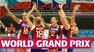 World Grand Prix: Czech Republic v Puerto Rico Highlights