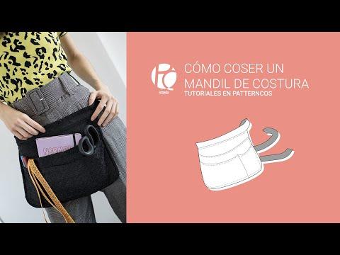 Tutorial Mandil De Costura Al Estilo De Los Aprendices De Maestros De La Costura Youtube