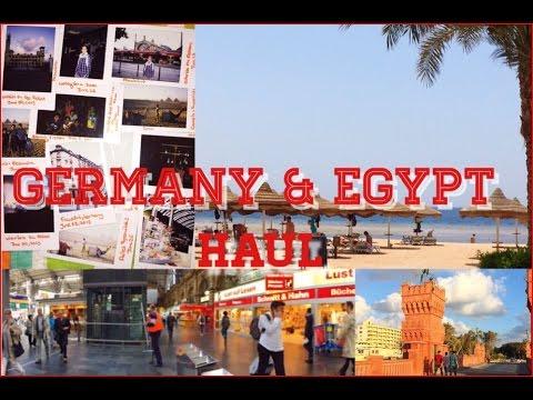 Germany & Egypt Haul + Travelling Advice