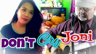 Don't Cry Joni (Cover by Howell Osborne & Lea Albrenza)