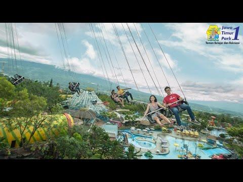 Wahana Ekstrim: Sky Swinger - Jatim Park 1