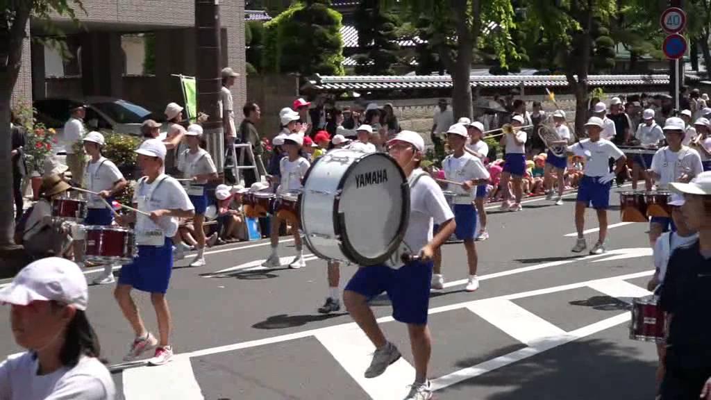 第38回福島市小学校鼓笛パレード...