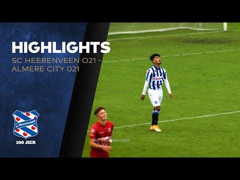 Highlights sc Heerenveen O21 - Almere City O21