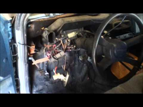 how to remove/install a complete dashboard chevy/gmc 1500