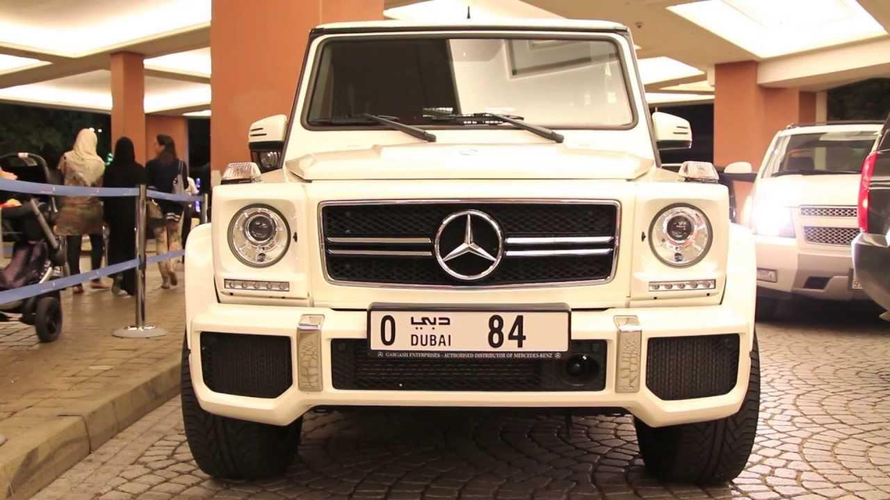 G63 Amg V8 Biturbo Mercedesbenz All White Youtube