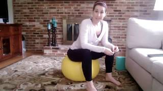 Pilates Ball Class for Pelvic Floor and Core