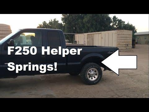 F250 Helper Springs!