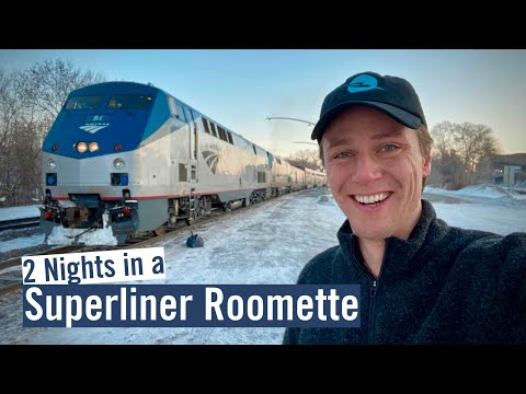 46 hrs in Amtrak Sleeper Car - Chicago to Seattle on the Empire Builder