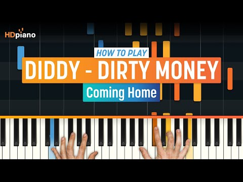"How To Play ""Coming Home"" by Diddy - Dirty Money ft. Skylar Grey 