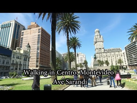 Walking (caminar) in Centro Montevideo, Uruguay Oct 2016 (1)
