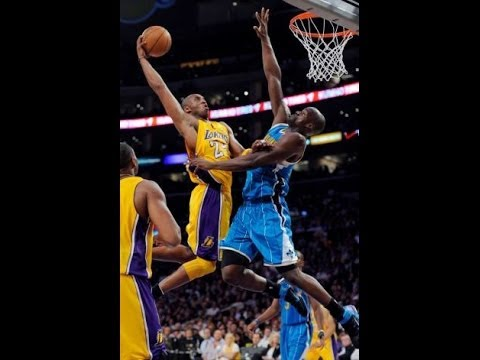 Kobe Bryant Dunks on Emeka Okafor NBA Playoffs 2011 First Round Game 5 April 26 HD 720p