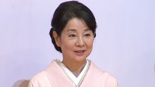 女優の吉永小百合が主演する映画「北の桜守」の完成会見が行われた。同...
