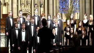 A Welsh Lullaby (Suo Gan) arr. by K. Lee Scott during New York 2009 tour
