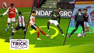 Saka & Grealish NUTMEGS | Pogba ROULETTE | BEST Premier League Skills of 2020